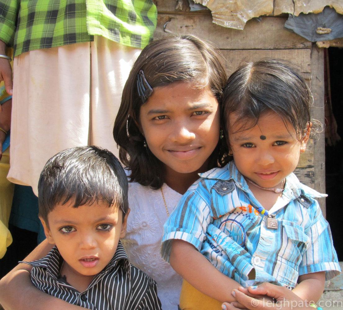 Children in the Slum