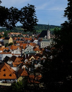 Ceske Krumlov ... looks unchanged. Looks are deceiving.
